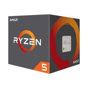 PROCESSEUR AMD Ryzen 5 1600X 3.6 GHz 6 cœurs 12 fils 16 Mo ca
