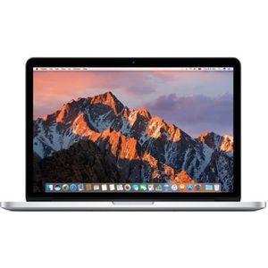 "Vente PC Portable APPLE MacBook Pro - MF839F/A - 13,3"" Rétina - RAM 8 Go -  Intel Core i5 bicœur - Stockage 256Go SSD - OS X Yosemite pas cher"