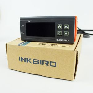 CHAUFFAGE Inkbird Double Relai 220V Thermostat Numérique ITC