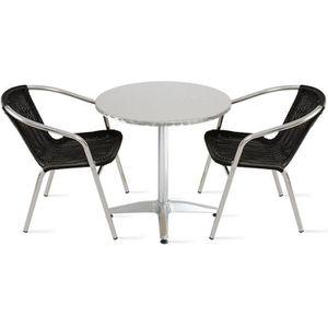 Table terrasse aluminium