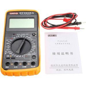 MULTIMÈTRE DT9205A Multimètre Digital LCD AC/DC Voltmètre Ohm