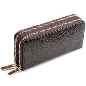 Mesdames véritable qualité Premium pour femme en cuir souple sac à main Porte-monnaie Porte-cartes de crédit