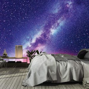 151200049 Universe scene with planets stars and galaxies Wallpaper wall mural