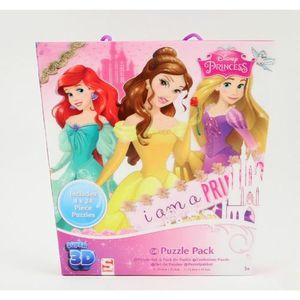 PUZZLE puzzle Disney Princess 4in1 Puzzle 3D