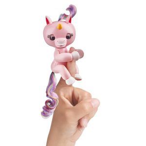 ROBOT - ANIMAL ANIMÉ FINGERLINGS Bébé Licorne Rose Interactive
