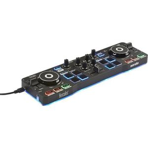 PLATINE DJ HERCULES STARLIGHT - Contrôleur DJ USB - 4 pads x