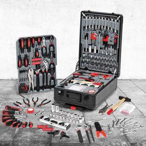 TROLLEY MATERIEL Mallette valise outils avec roulettes 308 pièces a