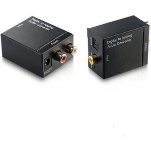 CÂBLE TV - VIDÉO - SON Convertisseur Audio numérique optique Toslink Coax
