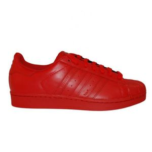 Basket Adidas Superstar Pharrell Williams Rouge