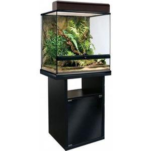 SOUS MEUBLE Meuble pour terrarium  60 cm 1 porte 60x45x70 cm