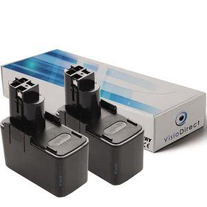 Batterie 3000mah pour Bosch b-2300 b-2310 b-2500 elle 12v bh-1214