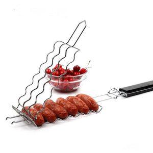 PINCE DE SERVICE Pince filet pour rôtir les saucisses