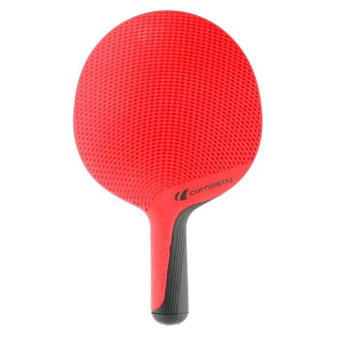 CORNILLEAU Raquette de Tennis de Table SOFTBAT Outdoor - Rouge