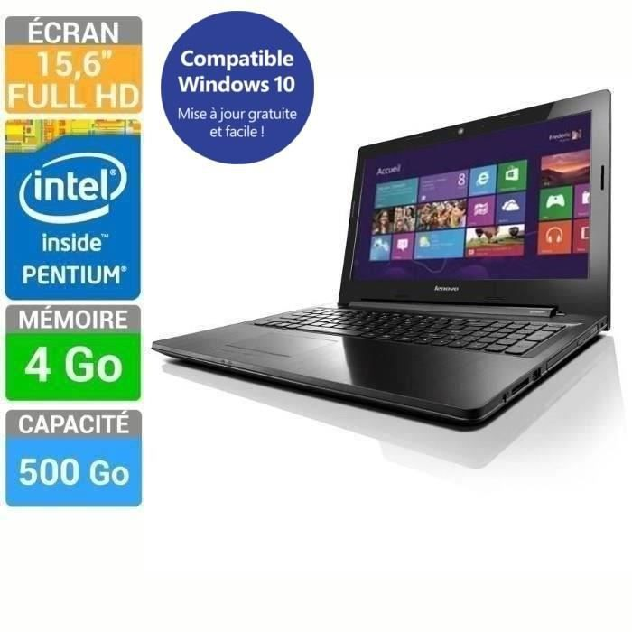 lenovo pc portable ideapad z50 70 noir 15 6 prix pas cher cdiscount. Black Bedroom Furniture Sets. Home Design Ideas