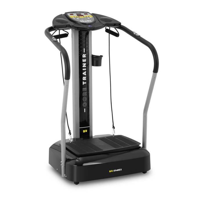 Plateforme Vibrante Oscillante Fitness Vibration Musculation 180 Vit. 3 Modes