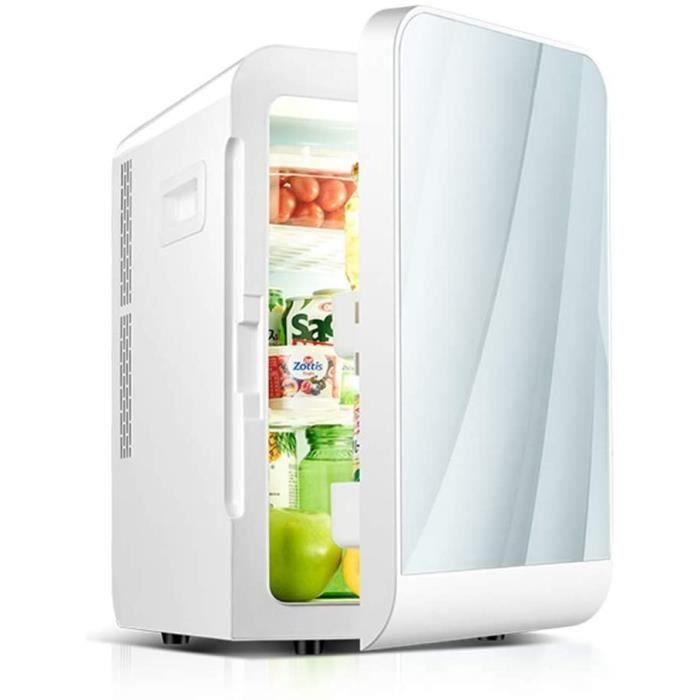 Refrigeration Box Réfrigérateur étudiant dortoir Petit réfrigérateur congélateur Mini-Maison à Double Usage de la Voiture Simpl A62