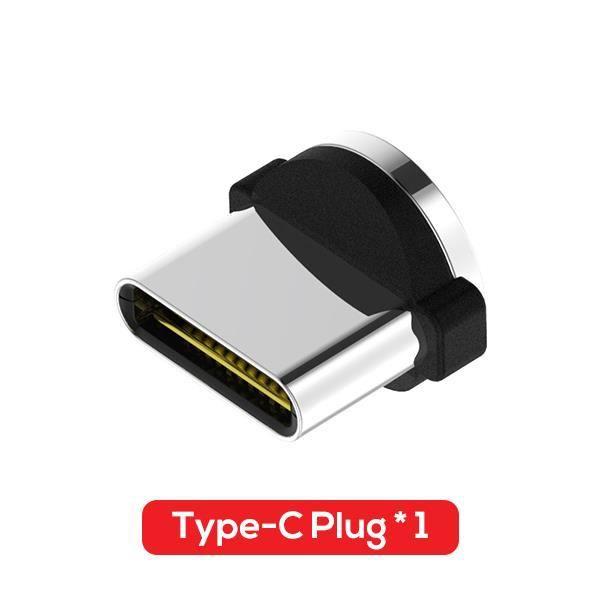 Mi cro USB câble magnétique USB type C aimant câble connecteur téléphone portable chargeur câble pour Huawei - Type Only USB-C Plug