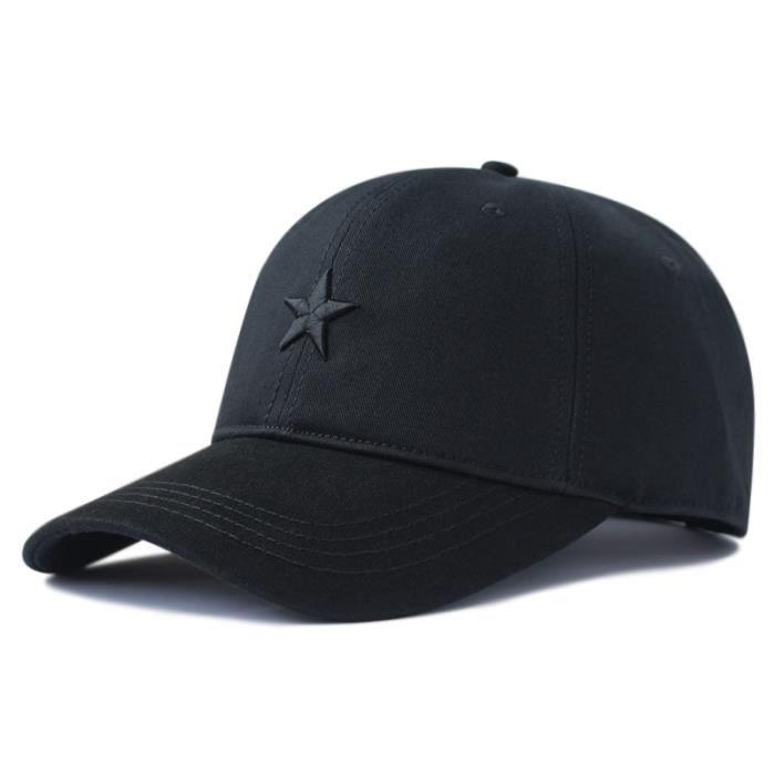 2020 Top qualité coton doux soleil chapeaux grand os homme casual pointe chapeau mâle grande taille black 62-68cm
