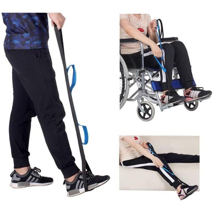 fauteuil roulant âgées, adultes, Handicap, pied levant invalidité avec poignée pour fauteuil roulant, cha , lit, voiture A229