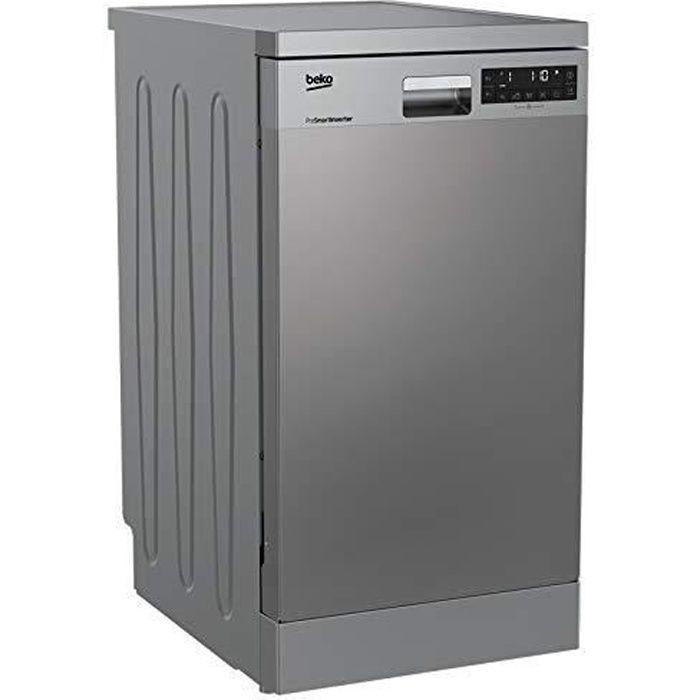 Beko DFS28021X lave-vaisselle Autonome 10 places A++ - Lave-vaisselles (Autonome, Acier inoxydable, Compact (45 cm), Acier inoxydabl