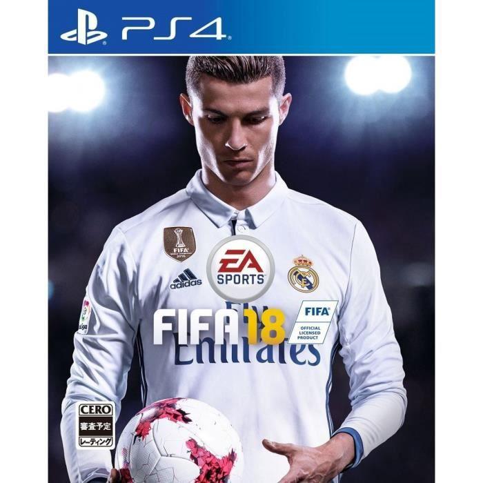 EA Sports FIFA 18 SONY PS4 PLAYSTATION 4 Import Japonais