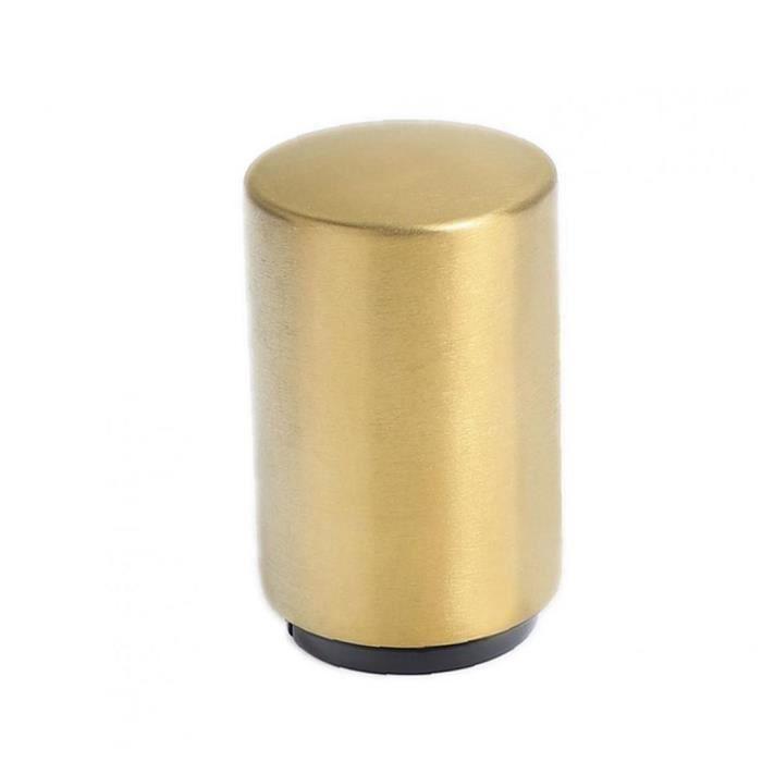 Ouvre bière bouteille de vin portable automatique en acier inoxydable magnétique Aimant Bar Accueil Bouteille d'or ouvre