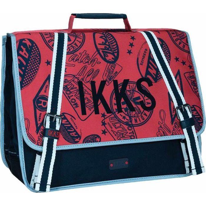 Cartable IKKS Urban R Rouge 38 CM