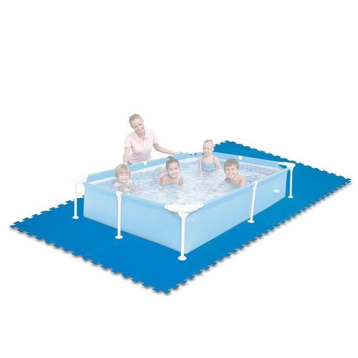Intex 8 tapis de sol 50 x 50 x 1 cm