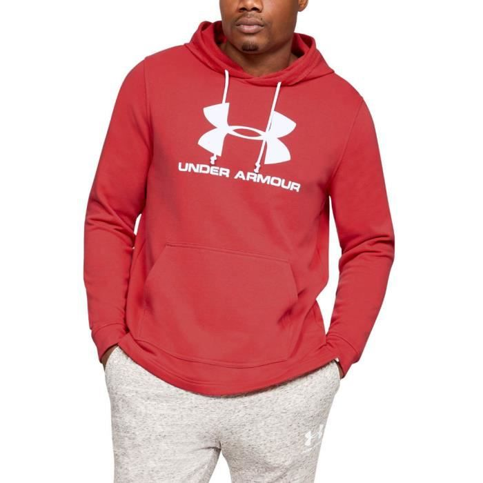 Under Armour Hommes Terry Logo Sweat À Capuche