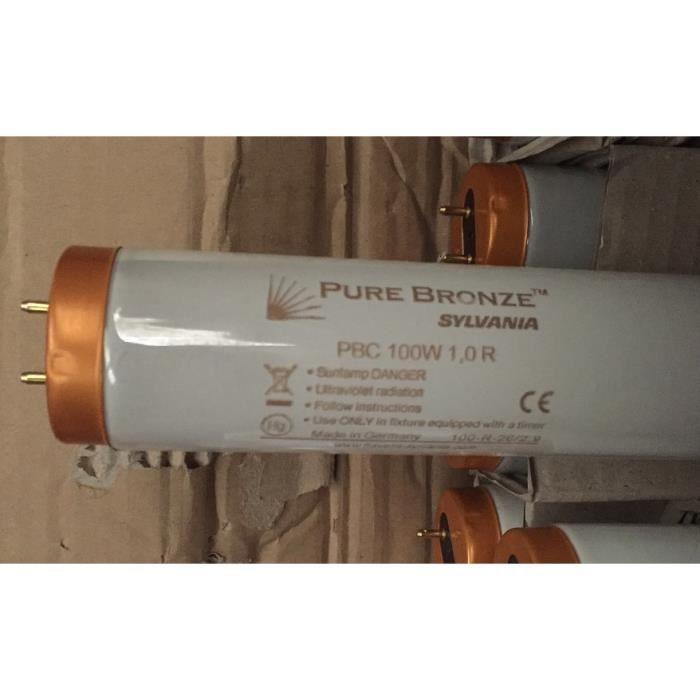 Sylvania 0001170 - Tube G13 Purebronze PBC 100w 1.0 R - Basse pression - Réflecteur