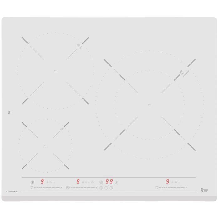 Teka IZ 6320, Intégré, Plaque avec zone à induction, Blanc, 1800 W, Rond, 14,5 cm