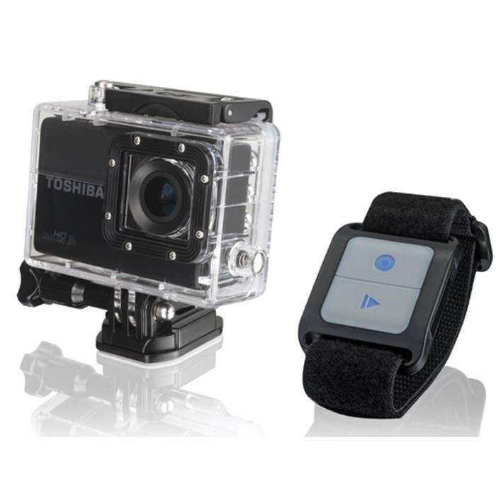 TOSHIBA Camileo X-Sports Pack caméra + accessoires
