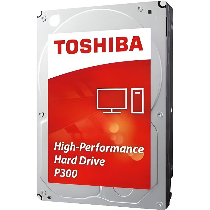 Toshiba Disque Dur interne P300 3,5'' Bulk - 1 To - 7200 rpm - 64 Mb