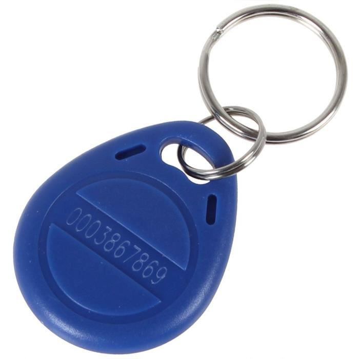 UHPPOTE Port-clé de Contrôle d'Accès EM4100 EM4102 125KHz RFID EM-ID Juste Lire (Couleur de Bleu Paquet de 10)