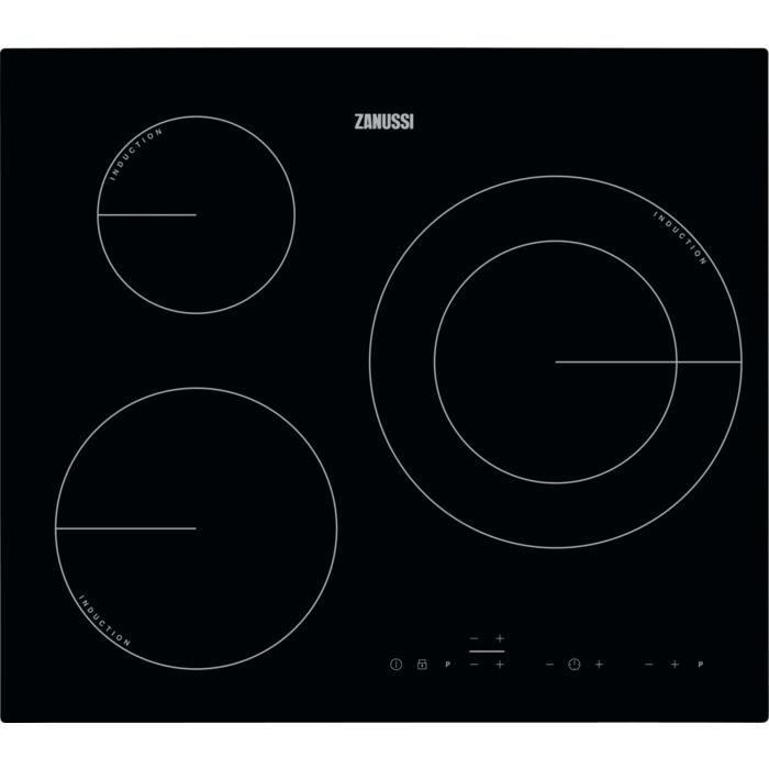 Zanussi ZIT6360CB, Intégré, Plaque avec zone à induction, Noir, 1400 W, 14,5 cm, 2300 W