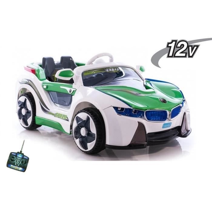 bmw i8 voiture lectrique enfant vert 12v achat. Black Bedroom Furniture Sets. Home Design Ideas