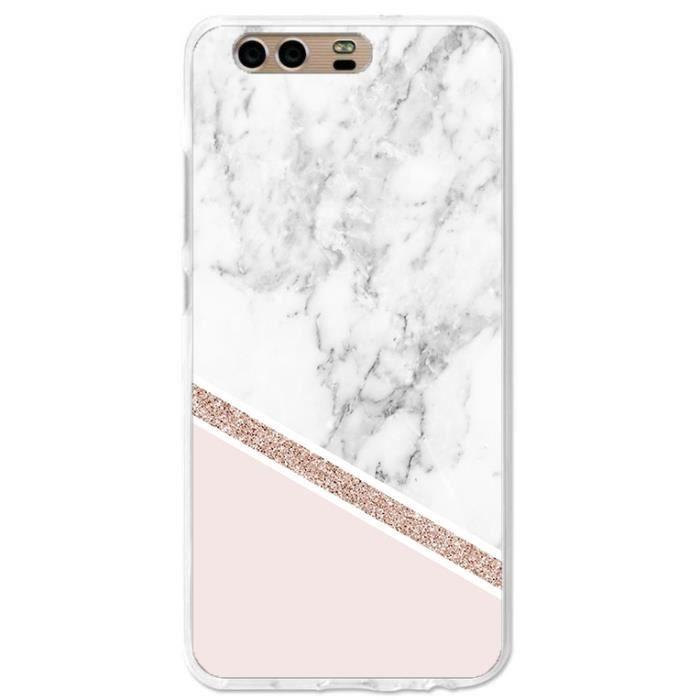 coque huawei y6 2018 marbre