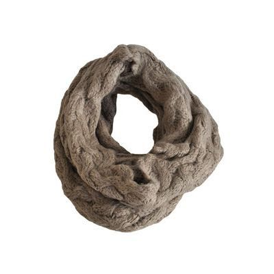 echarpe tube snood torsad beige femme achat vente echarpe foulard echarpe tube. Black Bedroom Furniture Sets. Home Design Ideas