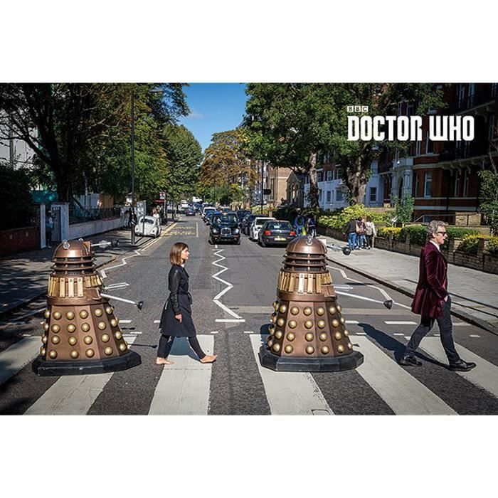 Poster Doctor Who Abbey Road - Achat / Vente affiche - poster ...