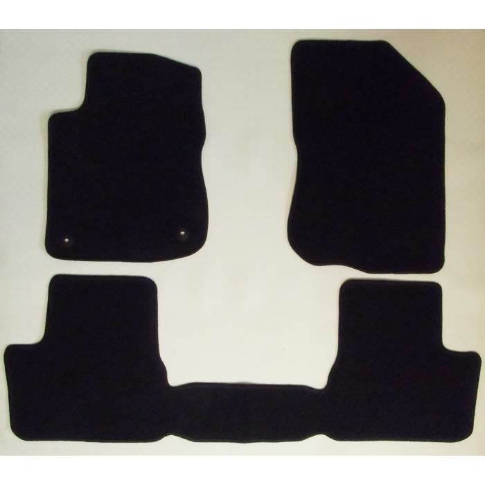 tapis de sol sur mesure pour peugeot 208 et 2008 2012. Black Bedroom Furniture Sets. Home Design Ideas