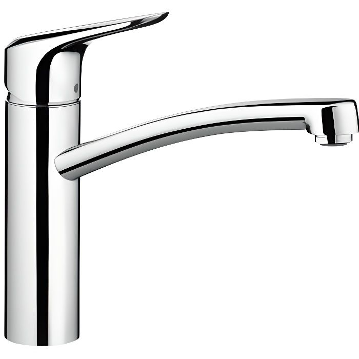 hansgrohe mitigeur de cuisine ecos m chrome achat vente robinetterie de cuisine mitigeur. Black Bedroom Furniture Sets. Home Design Ideas