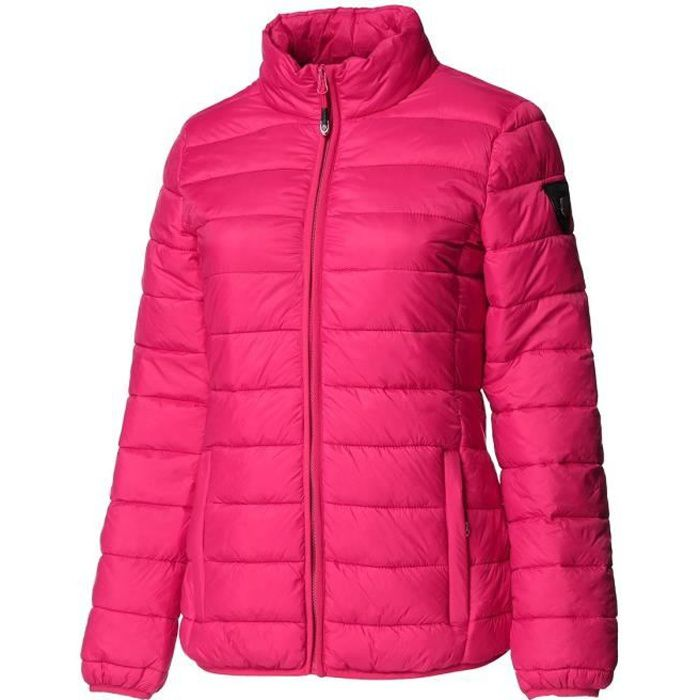 photos officielles b3f52 90f1b Doudoune Femme Geographical Norway Areca Fuschia