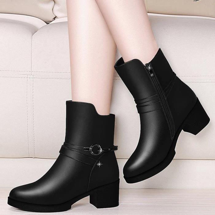 Bottes Femmes Bottine Chaussures De Loisirs 36 37 38 39 40