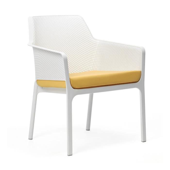 COUSSIN D'EXTÉRIEUR Coussin d'assise pour chaise de jardin NET RELAX 5