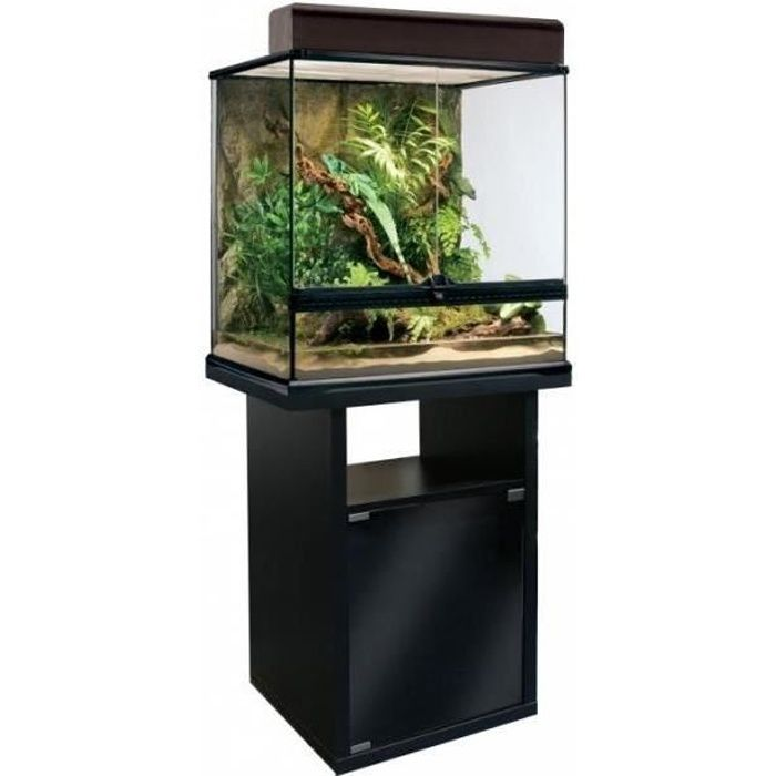 meuble pour terrarium 60 cm 1 porte 60x45x70 cm achat vente sous meuble meuble pour. Black Bedroom Furniture Sets. Home Design Ideas