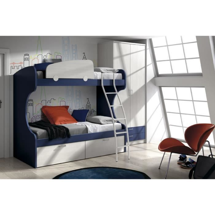lits superpos s donald avec armoire achat vente chambre compl te lits superpos s donald avec. Black Bedroom Furniture Sets. Home Design Ideas