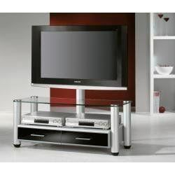 vcm merida meuble tv hifi avec rangement dvd cd achat. Black Bedroom Furniture Sets. Home Design Ideas