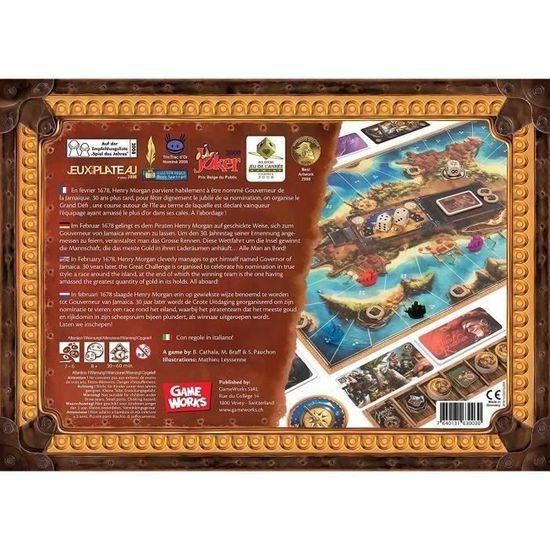 Pirate 21 Jeu de Carte Tout Neuf /& Emballé
