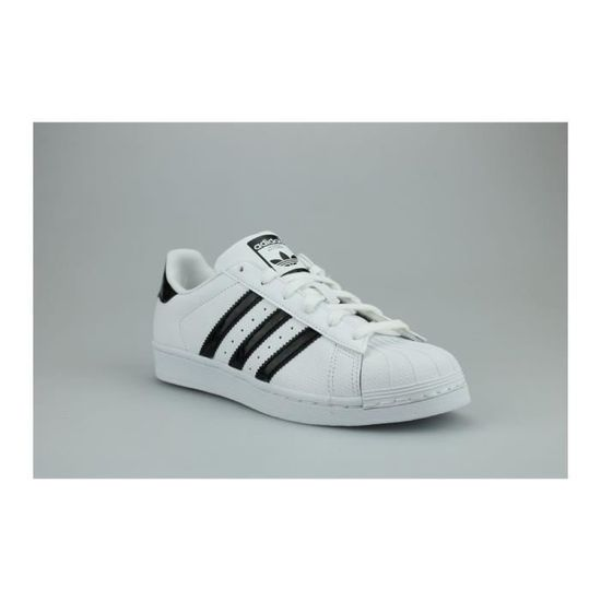 ADIDAS SUPERSTAR D96799 Homme en Cuir Blanc Original Baskets