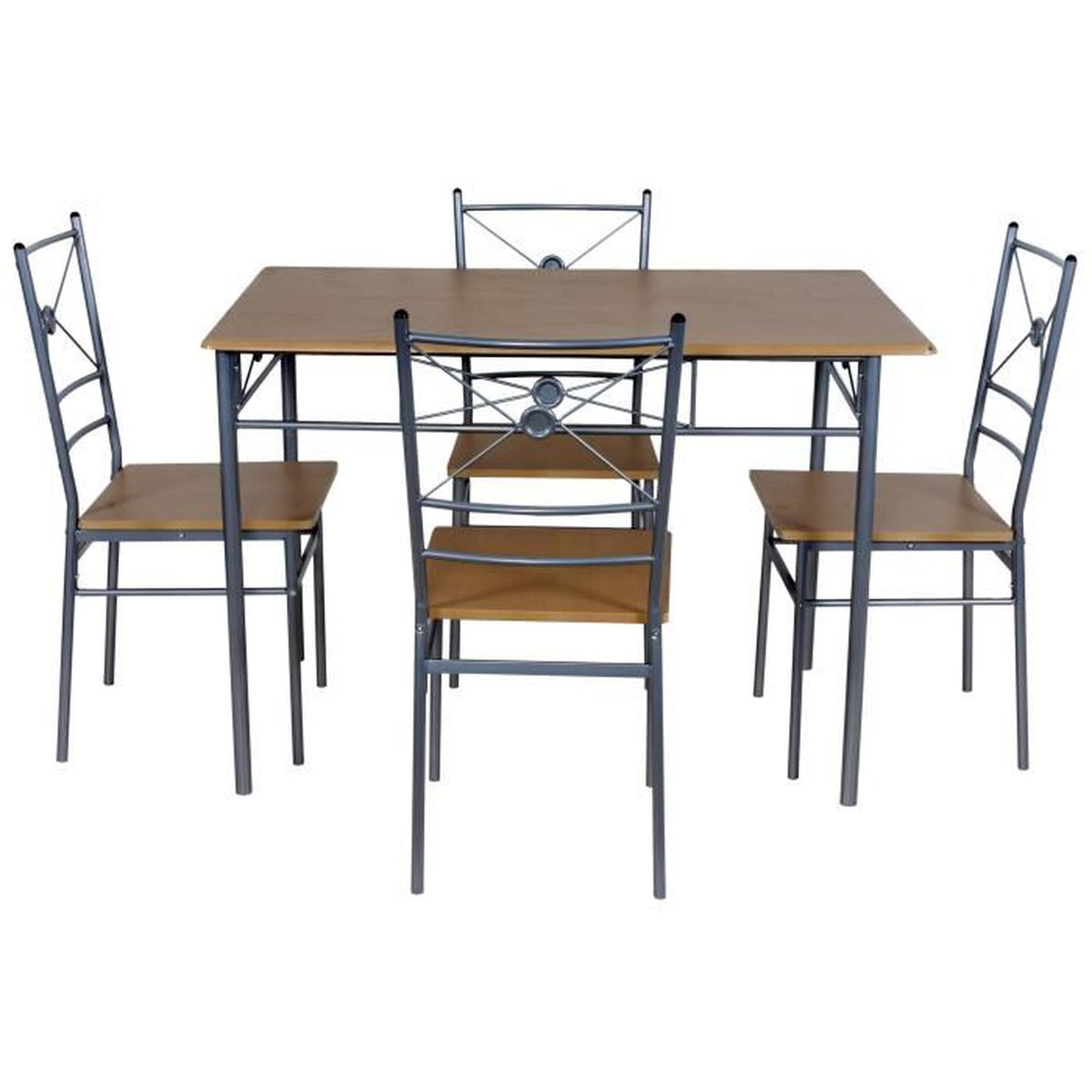 Set table cuisine 4 chaises nisse achat vente table for Table cuisine 2 chaises